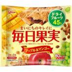 グリコ 毎日果実 アップル&マンゴー (3枚×2袋入) 1袋80kcaL 【y】