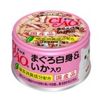 【J】 チャオ まぐろ白身&いか入り (85g) キャットフード ウェット 缶