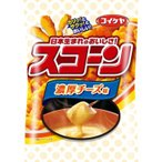 【zr gen】 湖池屋 スコーン 濃厚チーズ味 (80g) コーンスナック