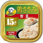 【zr 訳あり 大特価】 ビタワン グー 鶏ささみ 15歳以上 野菜入り (90g) ドッグフード ウェット