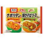 【M 30個セット♪】 日本製粉 オーマイ 2種のスパゲッティ ナポリタン&焼きそばソース味 (4個入)×30個 冷凍食品 レンジ調理