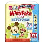【y】【ジャンボパック♪】 マミーポコ パンツ Lサイズ(64枚入)