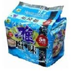 【特価】 麺のスナオシ 雅 塩拉麺 5食パック(420g) インスタントラーメン