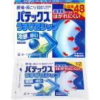 《zr》 パテックスうすぴたシップ  (冷感タイプ)48枚 【第3類医薬品】