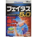 【今だけ4枚のおまけ付き】 フェイタス 5.0 (14枚入) 経皮鎮痛消炎テープ剤 湿布