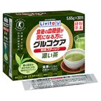【訳あり 特価】 使用期限:2019年12月 大正製薬 グルコケア 粉末スティック 濃い茶 (5.65g×30包) ●血糖値が気になる方に トクホ