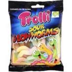 【訳あり 特価】 賞味期限:2022年2月2日 トローリ サワー グローワームス (100g) グミ 輸入菓子