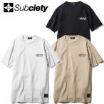(先行予約)SUBCIETY サブサエティー Trust S/S Tシャツ【17夏】6月末入荷予定