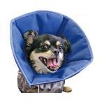 FANTASY WORLD 犬・猫用ラクラクペットカラー Vet's Soft Collar(ベッツソフトカラー) Lサイズ(頭回り:約52.5cm) VS-4/ペットの手術後やケガの時に傷口を守