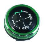 時計のベルトに付けられるコンパス ハイマウント(HIGHMOUNT) リストコンパス NO.800 メタリックグリーン 11218 アウトドア