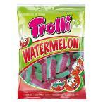 甘いキャンディーシュガーをまぶしたグミです。 Trolli(トローリ) ウォーターメロン 100g×12個セット スイーツ・お菓子