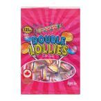 スイーツ・お菓子 ROCKETS(ロケッツ) ダブルロリーズ 96g×12個セット ロリポップ形のカラフルなラムネ菓子です♪