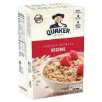 シンプルな味のオートミールです。 QUAKER(クエーカー) インスタントオートミール レギュラー 336g(12袋入)×12個セット 米・雑穀・パン・シリアル