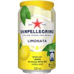 炭酸飲料としては多めに果汁を使用したドリンク。 サンペレグリノ スパークリンクドリンク リモナータ(レモン) 缶 330ml 24個セット W1-32 飲料