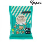 Veganz ヴィーガンズ 有機グラノーラ・バイツ ココナッツ&アーモンド 10袋 10691002 米・雑穀・パン・シリアル ひと口サイズに固めたグラノーラ