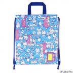 キルトナップサック I'm Doraemon ドラえもん 095821 バッグ 刺繍ネームワッペンで目立ち度満点!ふわふわナップサック