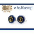 SWANK & Royal Copenhagen スワンク & ロイヤルコペンハーゲン コラボ カフスボタン rcc011/アクセサリー