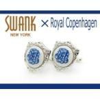 SWANK & Royal Copenhagen スワンク & ロイヤルコペンハーゲン コラボ カフスボタン rcc009/アクセサリー