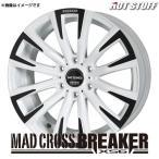 マッドクロス ブレイカー XS-6 アルミホイール(1本) 16x6.5 +38 139.7 6穴(パールホワイト&ブラック) / 16インチ MAD CROSS BREAKER XS6