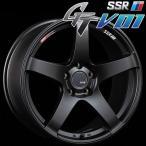 SSR GTV-01 アルミホイール(1本) 17x7.0 +42 100 4穴(フラットブラック) / GT ジーティー 1ピース 1PIECE 1P GTV01 17インチ