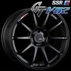 SSR GTV-02 アルミホイール(1本) 18x7.5 +53 114.3 5穴(フラットブラック) / GT ジーティー 1ピース 1PIECE 1P GTV02 18インチ