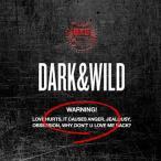 防弾少年団(BTS) 1集 DARK & WILD CD 韓国盤