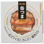 K&K 缶つま 国産紅ズワイガニカニミソ脚肉入 [缶] 60g x 24個[ケース販売] [K&K国分 食品 缶詰 日本 0317860]
