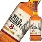 ウイスキー ワイルドターキー 8年 1L 1000ml 正規品 (アメリカ/バーボン/ウイスキー) whisky あすつく