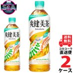 爽健美茶 PET 600ml 2ケース × 24本 合�