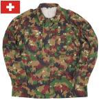 スイス軍 M-83 カモジャケット USED
