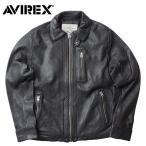 AVIREX #6161063 シープスキン ライダース レザージャケット 【日本正規販売店】 AVIREX/アビレックス/avirex/アヴィレックス
