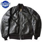 ショッピングミリタリー BUZZ RICKSON'S #BR80465 WILLIAM GIBSON COLLECTION ブラック MA-1 フライトジャケット ホースハイド バズリクソンズ