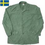 スウェーデン軍 ワークジャケット オリーブ USED