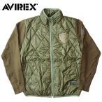 AVIREX #6152208 キルト&スウェット スプリットコート  【日本正規販売店】 AVIREX/アビレックス/avirex/アヴィレックス