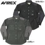 AVIREX #6152192 ウール ニット CPO ジャケット シャツ 【日本正規販売店】 AVIREX/アビレックス/avirex/アヴィレックス[SALE]