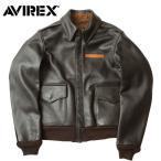 AVIREX #2191000 A-2 レザー フライト ジャケット  U.S.A 【日本正規販売店】 AVIREX/アビレックス/avirex/アヴィレックス