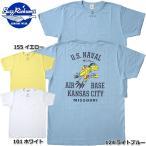 BUZZ RICKSON'S #BR77698 半袖 プリント Tシャツ『U.S.NAVAL AIR BASE