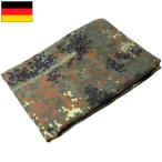 セール中 ドイツ軍 テントシートフレクターカモ USED 迷彩 ダメージ品
