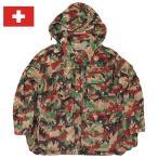 sale スイス軍 カモフラージュ マウンテンジャケット USED