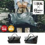SEAL(シール)ボストンバッグ/森野帆布コラボ/トラベルボストンバッグ Mサイズ  【seal バッグ/防水・耐水/廃タイヤ/人気/日本製/メンズ/黒】