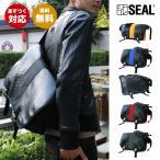 SEAL(シール) メッセンジャーバッグ【seal バッグ/ショルダーバッグ/防水・耐水/廃タイヤ/タイヤチューブ/人気/日本製/メンズ/黒】【あすつく】