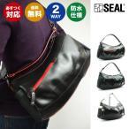 SEAL(シール)ショルダーバッグ/2way ワンショルダーバッグ  【seal バッグ/2way/防水・耐水/廃タイヤ/人気/日本製/メンズ/黒】