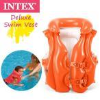 INTEX(インテックス) デラックス スイムベスト フローティングベスト/子供/幼児/浮き輪 58671