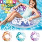 (パケット便送料無料)INTEX(インテックス) クリアカラーチューブ 59251N (浮き輪/フロート)