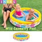 (パケット便送料無料)INTEX(インテックス) ワイルドジオメトリープール 59419(プール/海水浴/水遊び/フロート)
