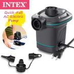 INTEX(インテックス) 電動 ポンプ 66639 AC電源 空気入れ ベッド 浮き輪 フロート