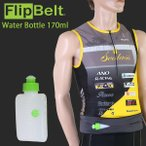 FlipBelt(フリップベルト) ウォーターボトル 170ml(ウエストバッグ/ポーチ/小物入れ/ランニング/自転車)
