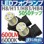 LED フォグランプ 【 H8 H11 HB3 HB4 】 9V-32V ledフォグライト 12V LED 2個セット 1年保証 ゆうパケット 送料無料