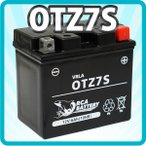 バイクバッテリーCTZ7S ズーマー TRICKER ドラッグスター250 セロー225 保証付 充電済み