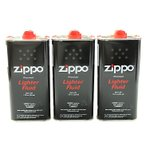 ショッピングzippo Zippo ジッポー ライター用 交換 オイル 大缶 355ml 純正 消耗品 メンテナンス用品(3本セット) 送料無料